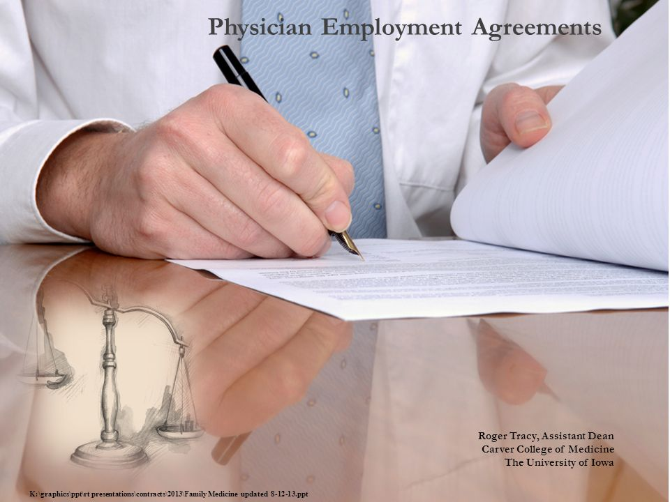 Physician Employment Agreements  Ppt Download