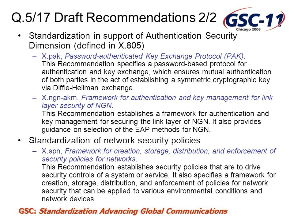 Q.5/17 Draft Recommendations 2/2