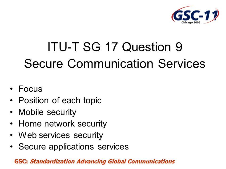 Secure Communication Services