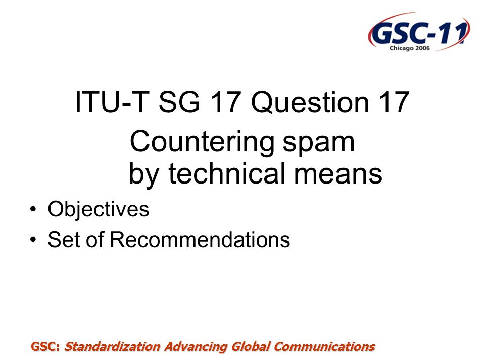 Countering spam by technical means