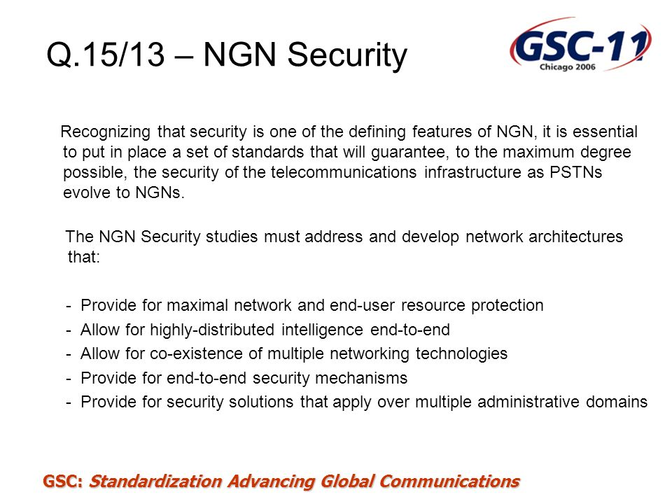Q.15/13 – NGN Security