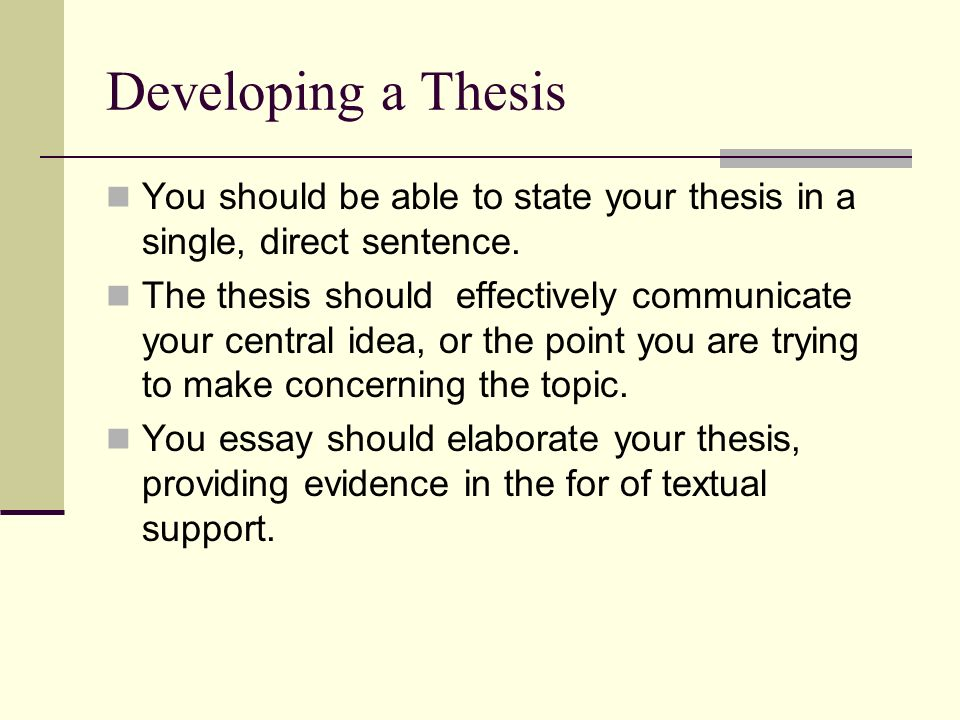 thesis builder for argumentative essay 1 updated 11/22/2011 creating a thesis statement a thesis statement is a one or two-sentence summary of the central analysis or argument of an essay.