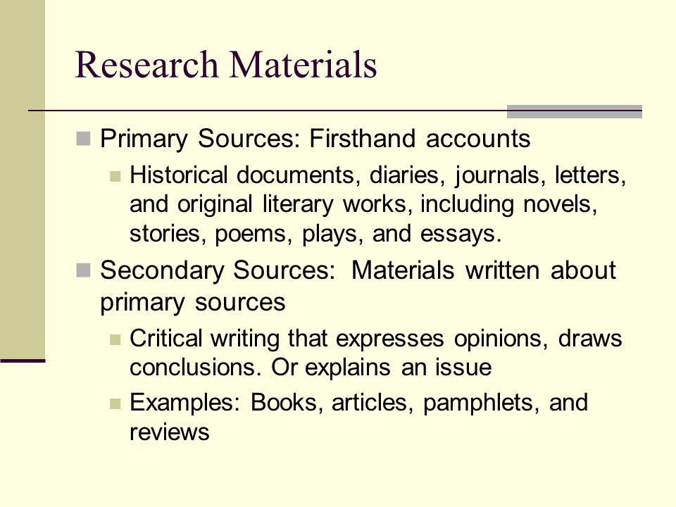Individual Choice Primary Source Assignment