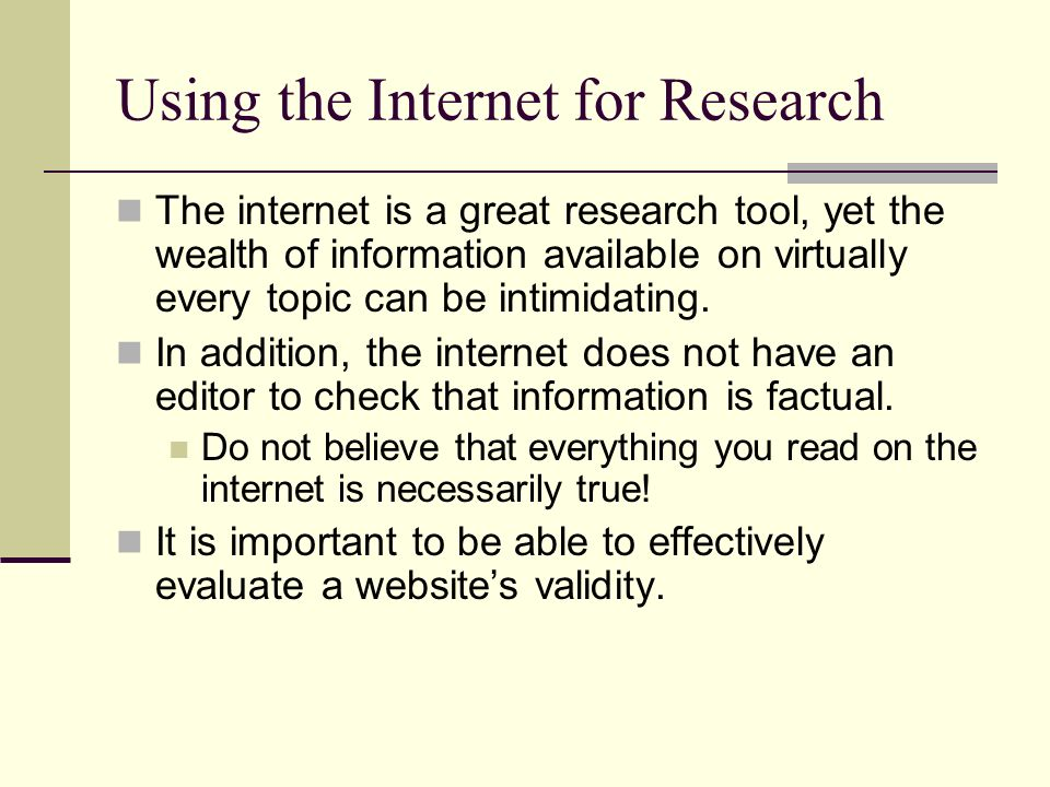 using internet geology term papers
