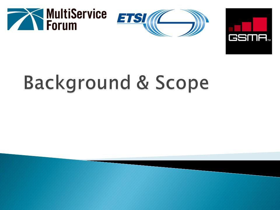 Background & Scope