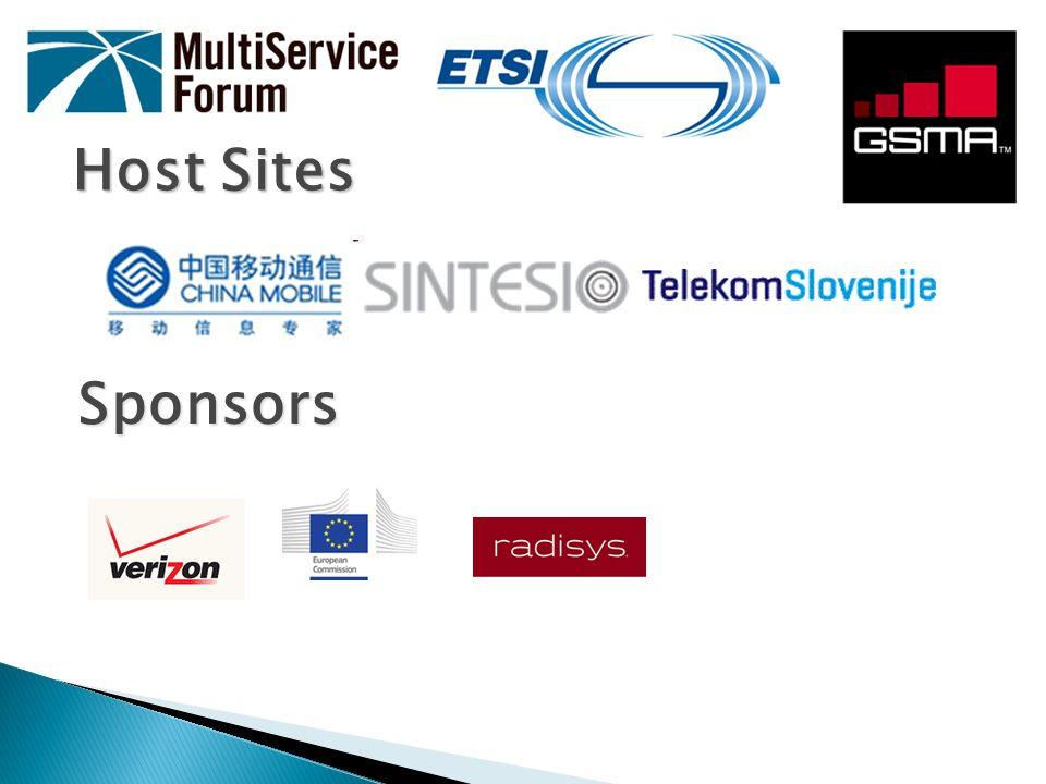 Host Sites Sponsors