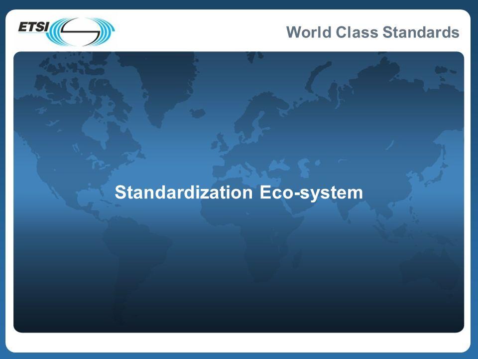 Standardization Eco-system
