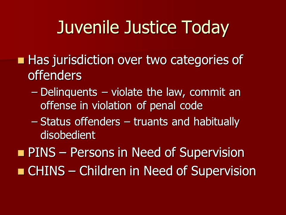 Chapter 15 The Juvenile Justice System - ppt download