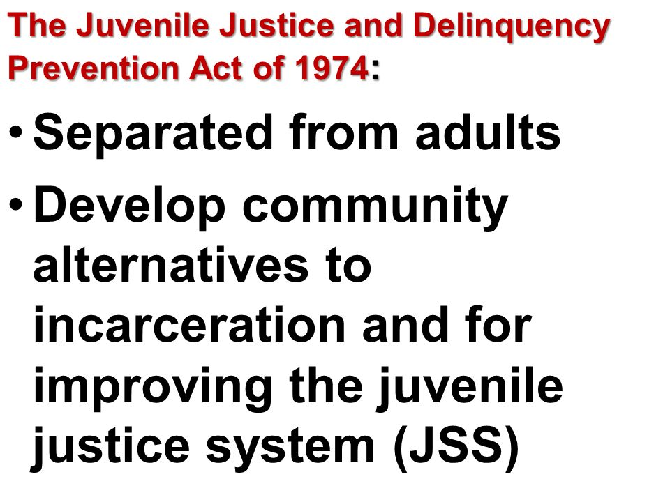 juvenile justice and delinquency prevention essay Juvenile delinquency causes and prevention: free justice sample to help you  write excellent academic papers for high school, college, and university.