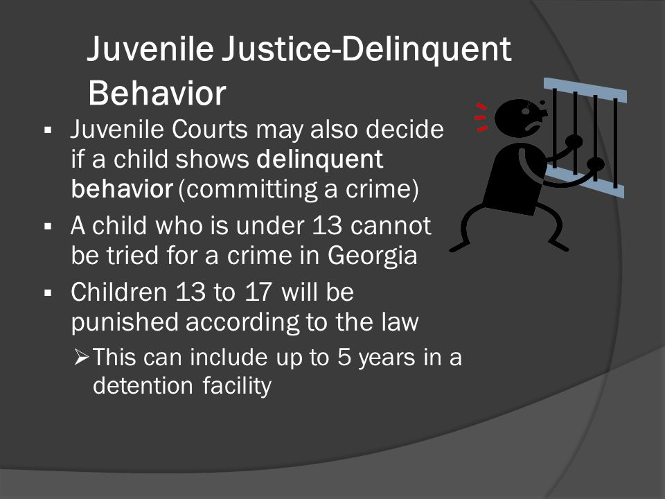 Juvenile Justice-Delinquent Behavior