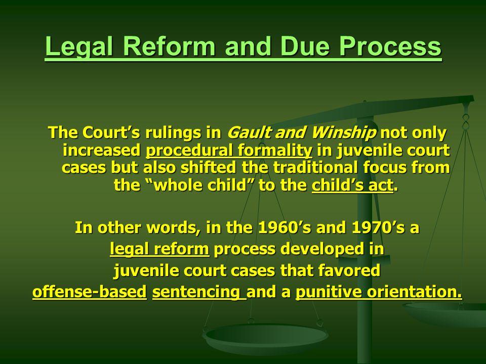 legal reform