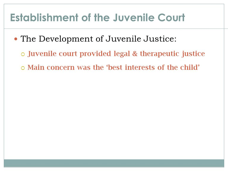 the need for reform in the juvenile justice system of the united states The juvenile justice system has been transformed with a range of policies designed to hold youth accountable true attempts were made to develop and reform the juvenile justice network during the 18th,19th and early 20th century.