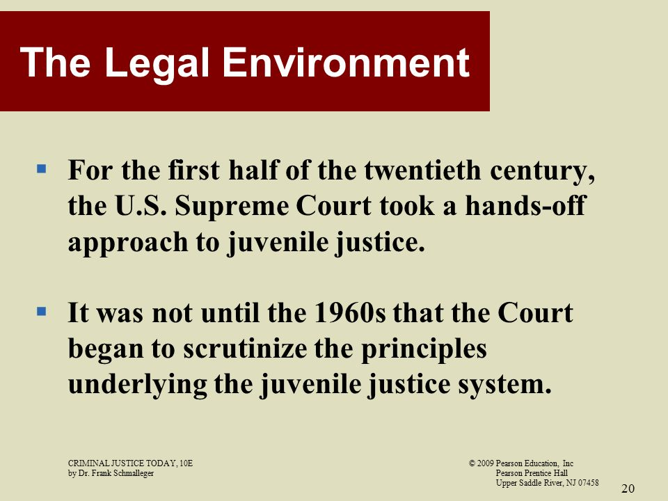 the necessity of separating juveniles and adults in the legal justice system The juvenile justice system can present unique challenges not normally seen in the adult criminal system, and having an attorney represent your best interests is imperative post your case - get answers from multiple criminal law and police lawyers.