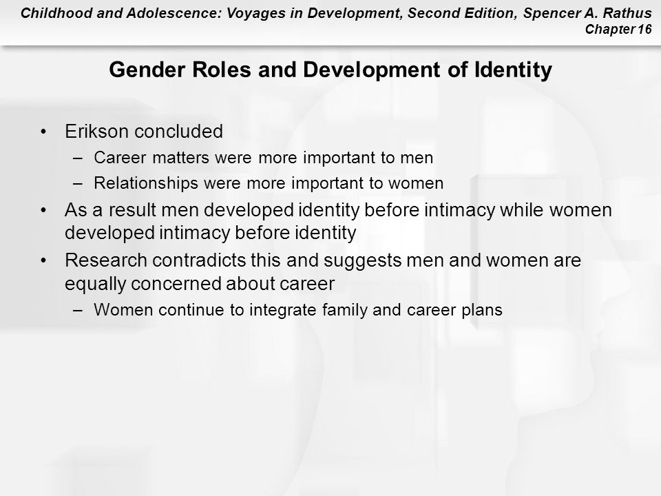 Is gender identity the result of