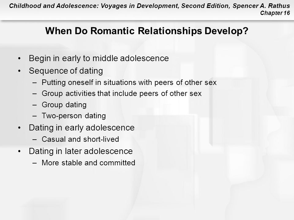 Healthy Dating Relationships in Adolescence