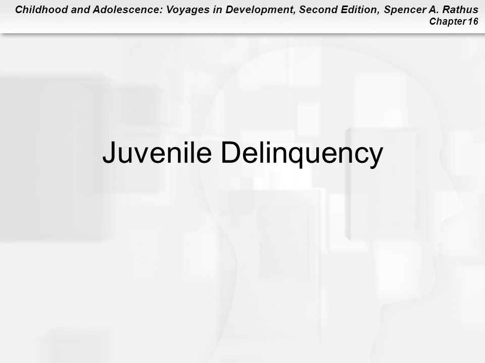 social threat of juvenile delinquency Juvenile incarceration, human capital and future crime: evidence from   families in society: the journal of contemporary social services, 82(4), 399-40 .