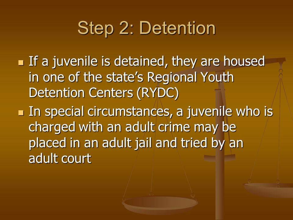 juveniles and the responsibility for their crimes Start studying juvenile justice systems and an assistant to the court with responsibilities simmons determined that no juveniles who committed their crimes.