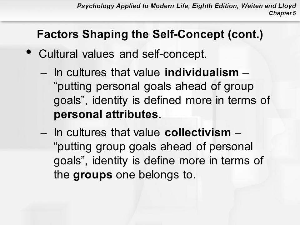 an evaluation of factors that influences a persons identity Cultural influences on identity  a  four factors that influence strength  racial/ethnic identity is seen as a combination of personal attitudes and .