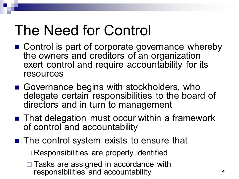 internal control and corporate governance pdf