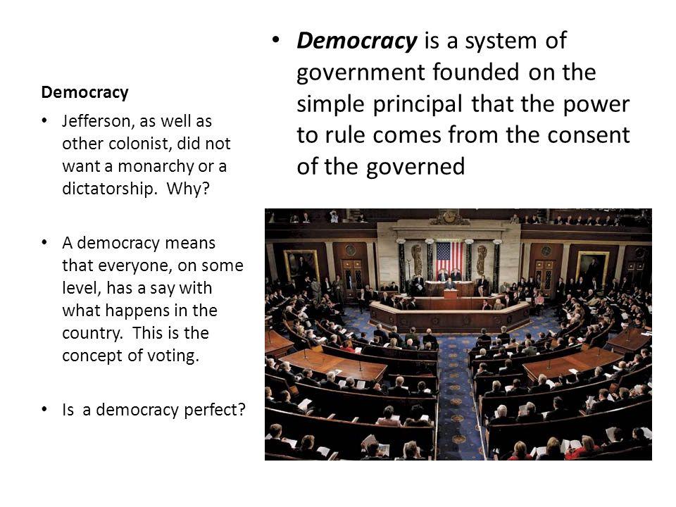 Defining democracy essay