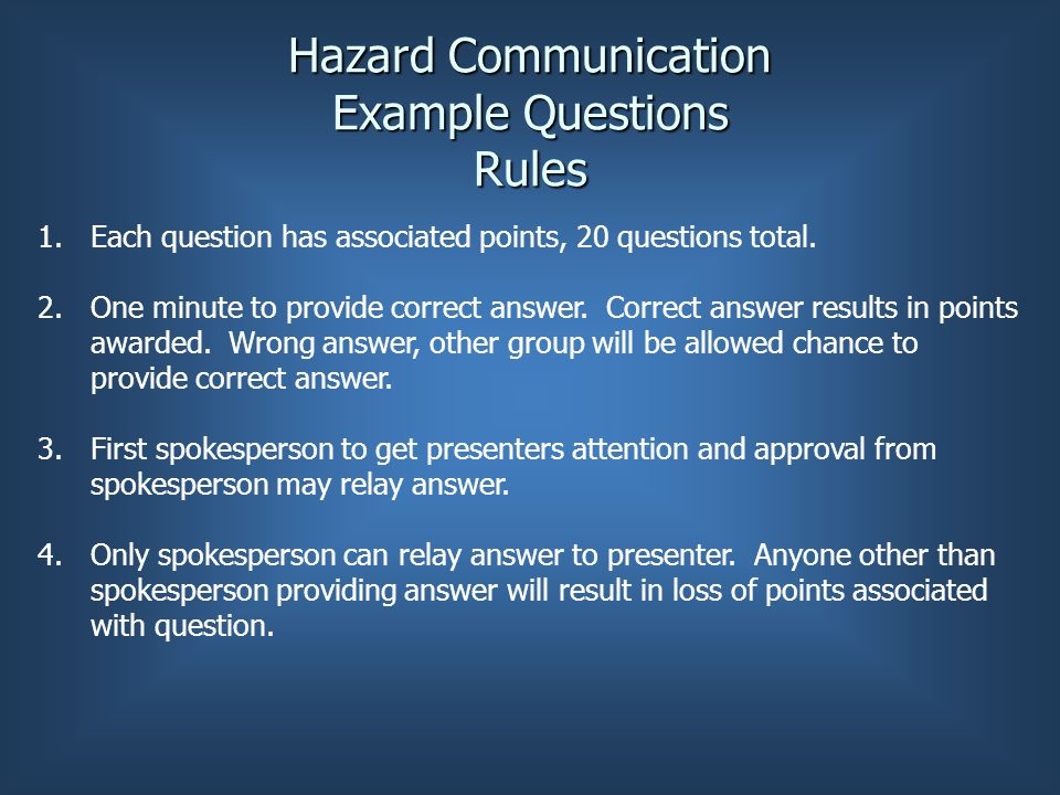 ygo rules example group rules Guide for setting ground rules whenever you hope to facilitate conversations on social justice concerns, whether preparing for a one-hour workshop or weaving such discussions into a year-long class, a vital first step is the development of guidelines for participation.
