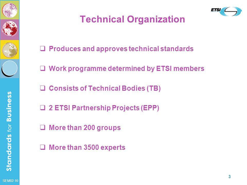 Technical Organization