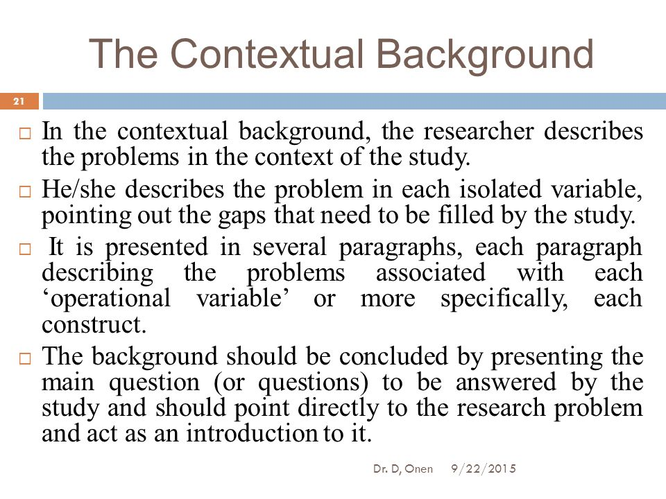 contextual statement Contextual learning is based on a constructivist theory of teaching and learning  learning takes place when teachers are able to present information in a way.