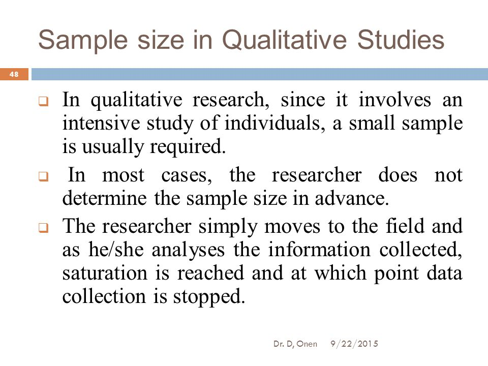 how to determine sample size in qualitative research - Maddenrecall