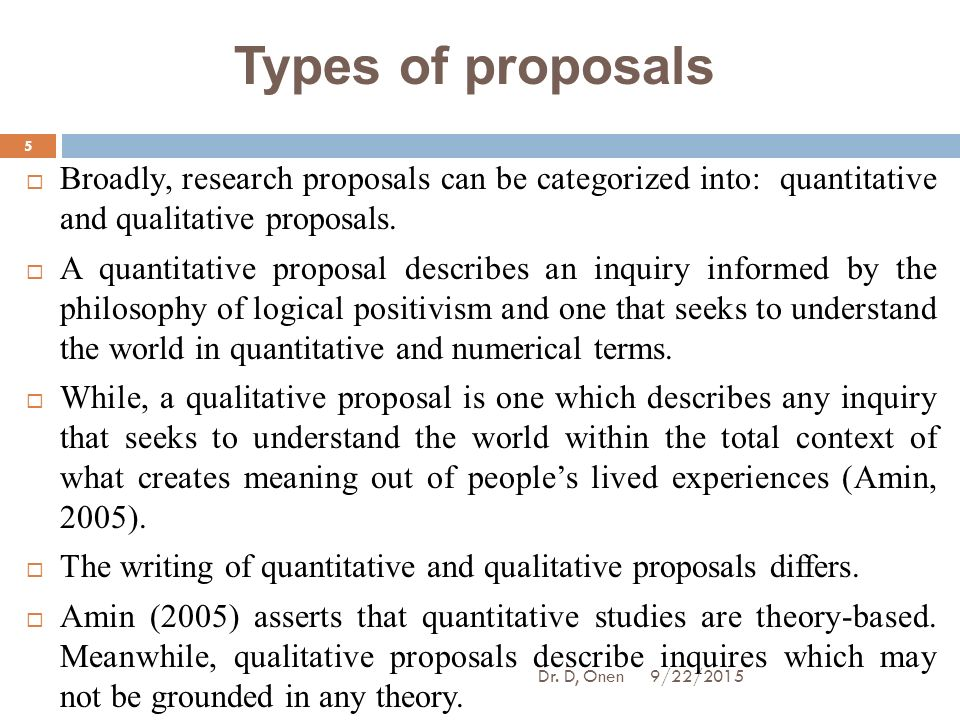 Social Research Proposal