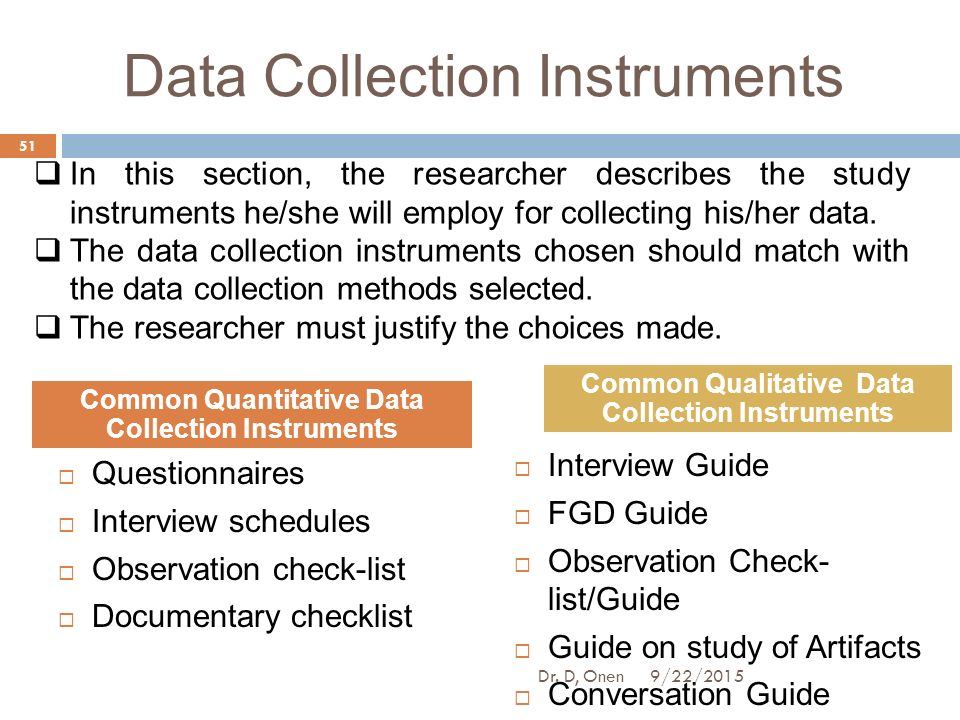research instruments for data collection pdf