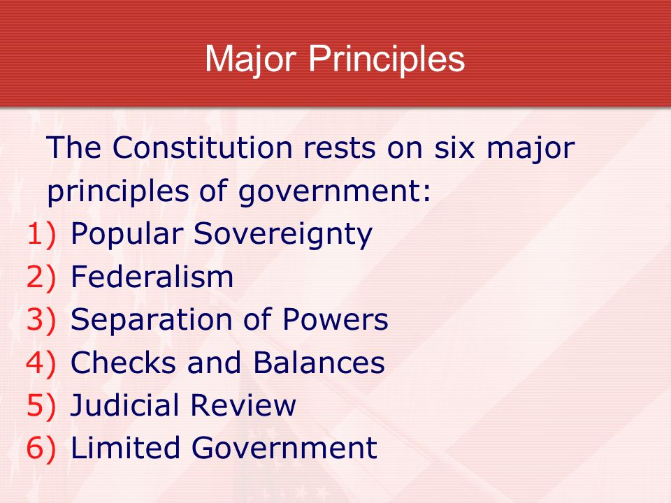 Chapter 3 – The Constitution - ppt download
