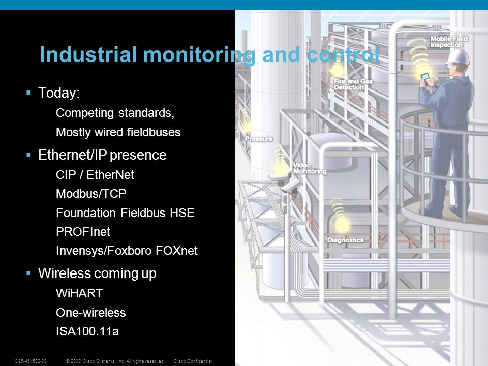 Industrial monitoring and control