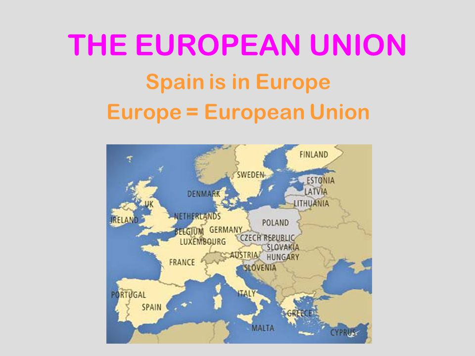 Europe = European Union