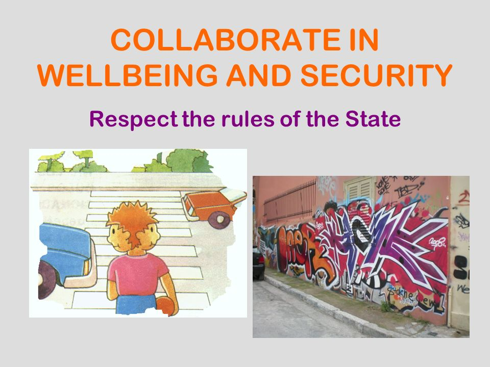 COLLABORATE IN WELLBEING AND SECURITY
