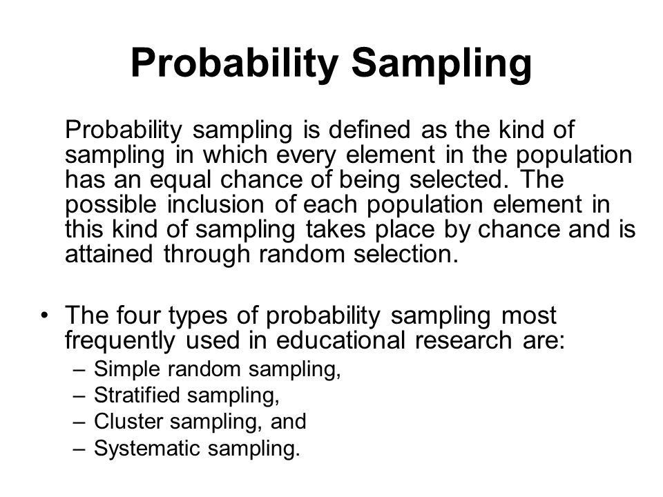 random sampling in research The term random sample comes up a lot when you're reading about medical research understand this term can help you interpret those health studies you come across.