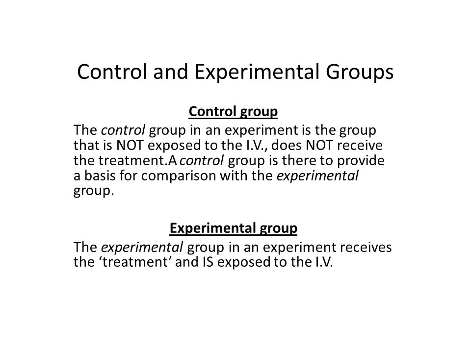 in an experiment participants experience a manipulation of the ___ called the experimental treatment Embedding such manipulation checks within an experiment comes with  problems  the default assumption that manipulation checks do not affect  experimental  a manipulation check seem necessary: did the participant notice  the treatment at all  manipulation check (imc oppenheimer et al, 2009), also  called an.