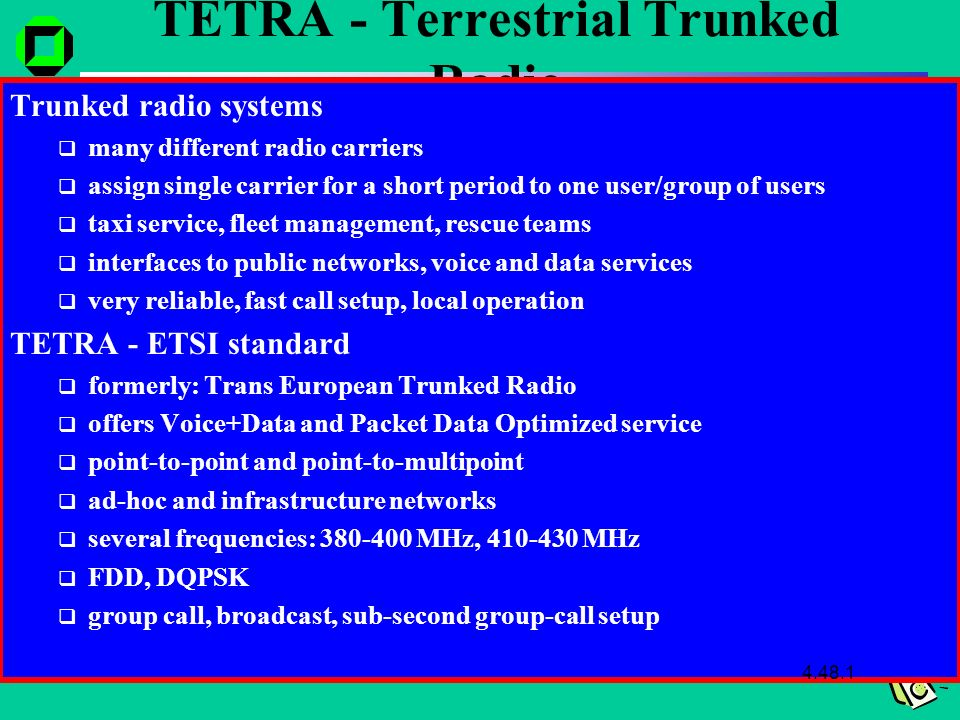 Mobile Communications Wireless Telecommunication Systems