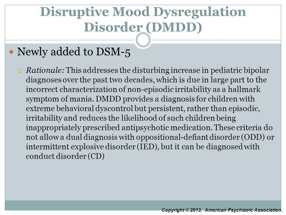 Disruptive Mood Dysregulation Disorder Treatment Greg J. Neimeyer, PhD ...