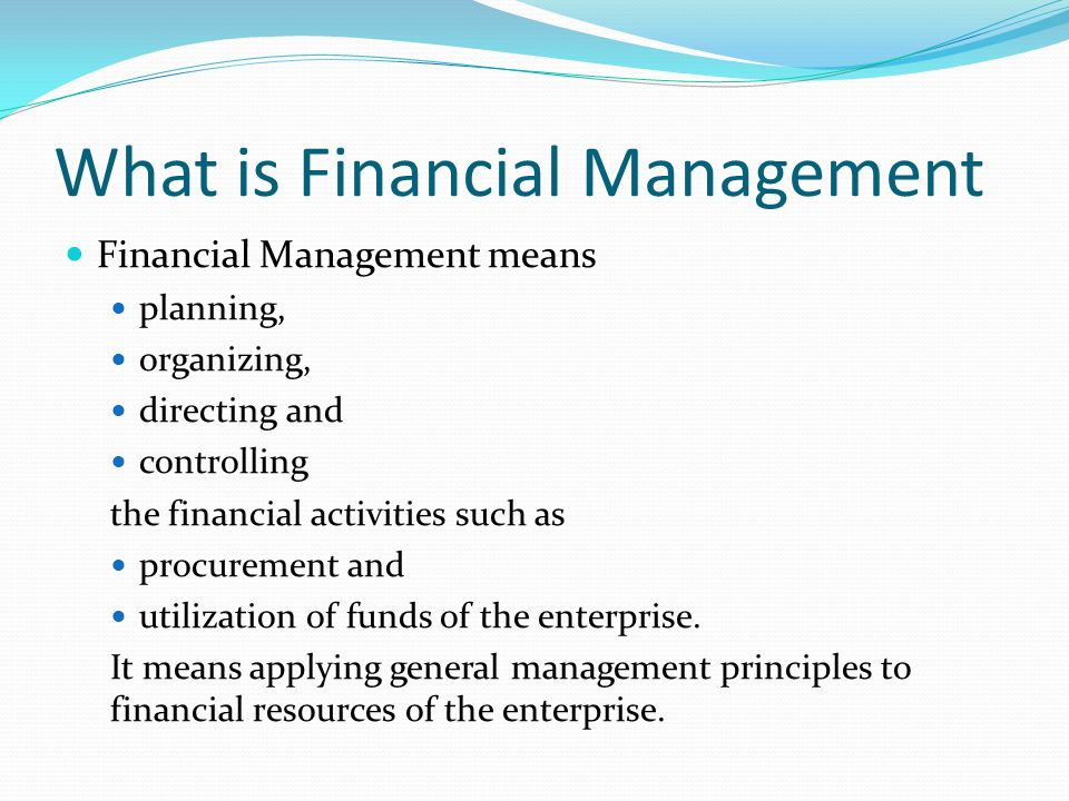 financial decisions in financial management pdf