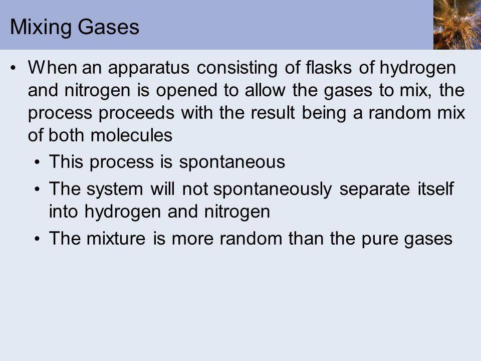 Mixing Gases