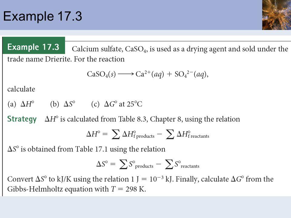 Example 17.3