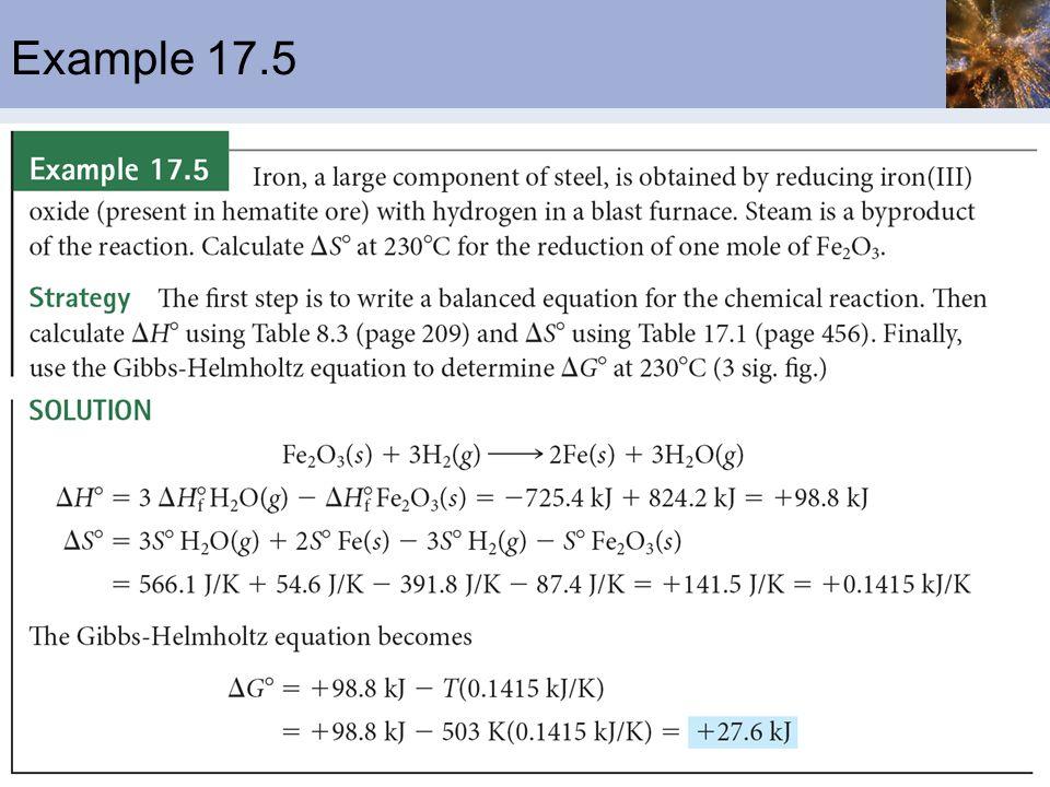 Example 17.5
