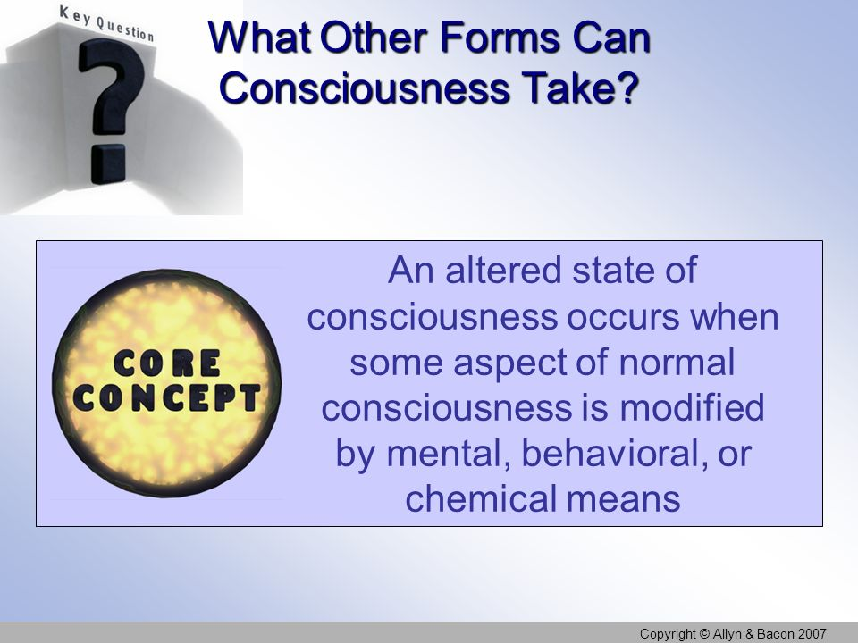 What Other Forms Can Consciousness Take