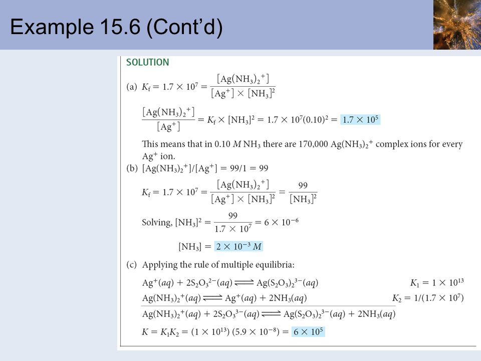 Example 15.6 (Cont'd)