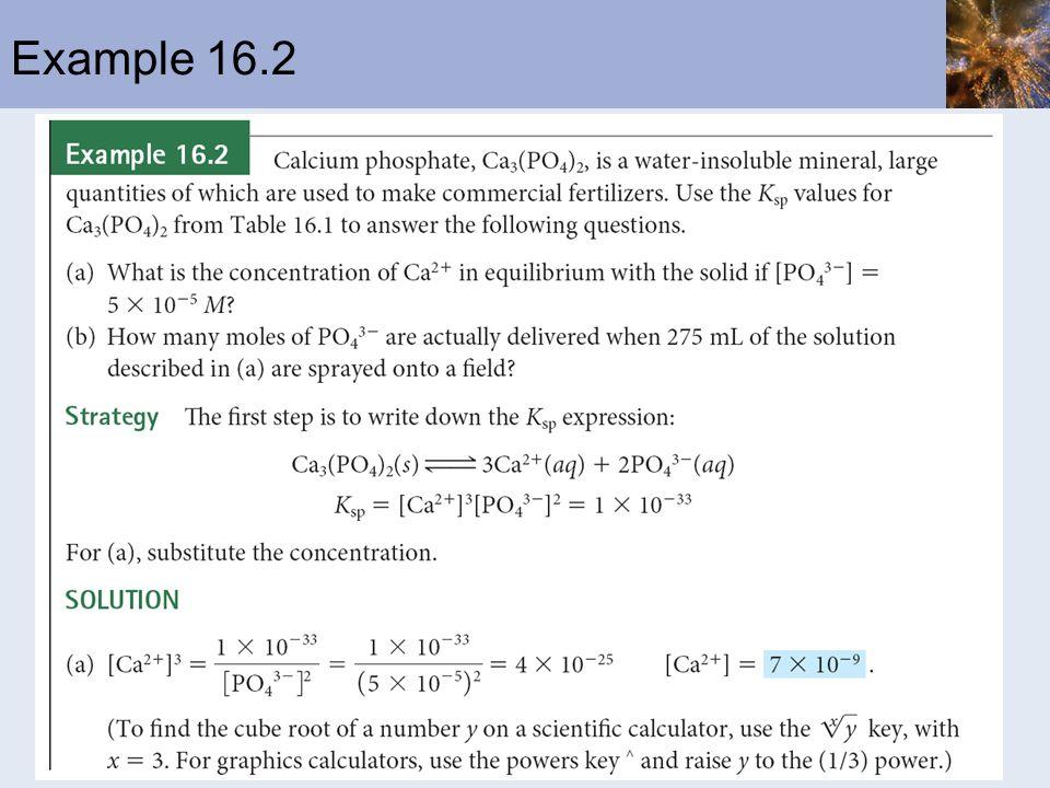 Example 16.2
