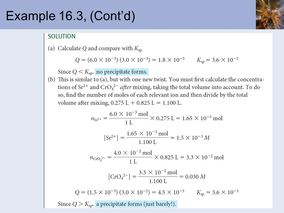 Example 16.3, (Cont'd)