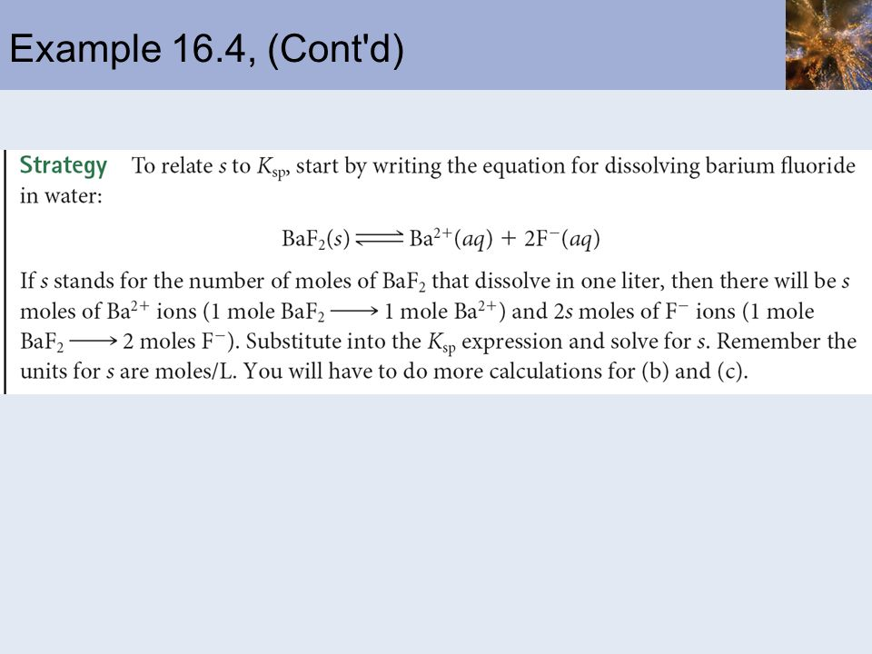 Example 16.4, (Cont d)