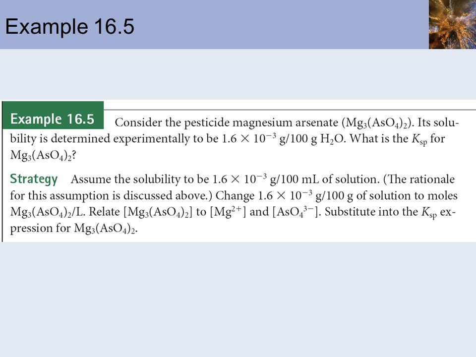 Example 16.5