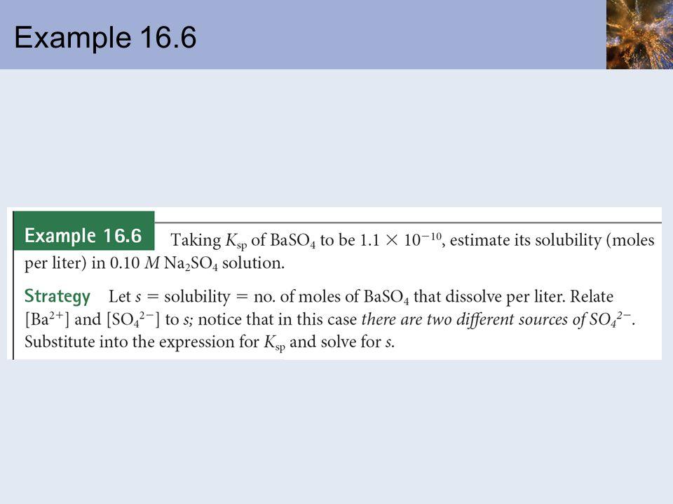 Example 16.6