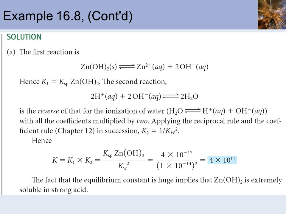 Example 16.8, (Cont d)